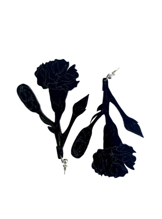 julia-kaja-hrovat-jkh-black-carnation-earrings
