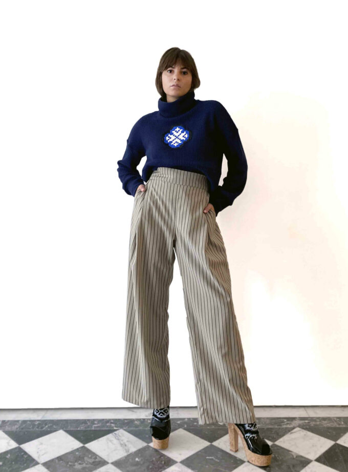 julia kaja hrovat jkh trousers stripe