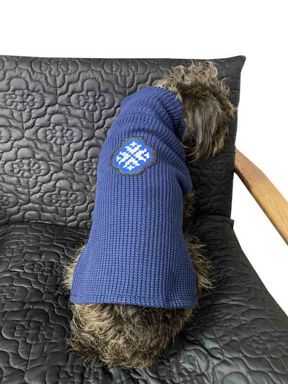 jkh dog sweater navy