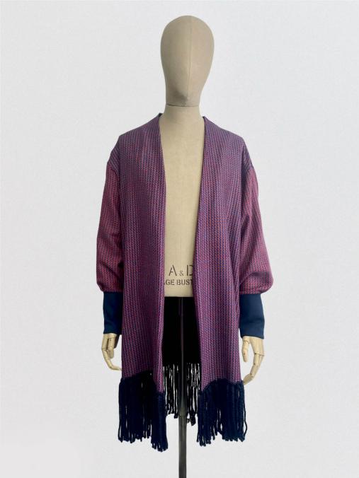 julia kaja hrovat online shop fringe artisanal sweater