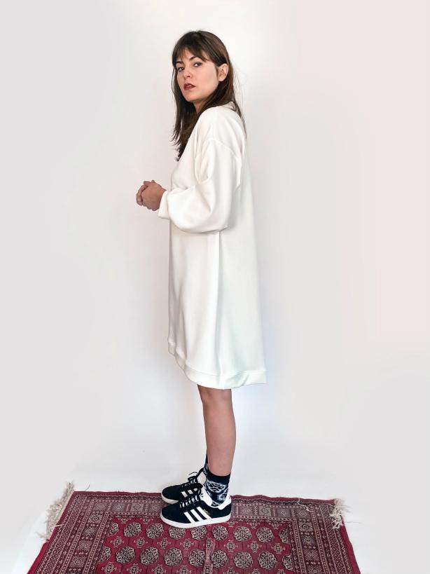 julia kaja hrovat white tunic slovetno dress