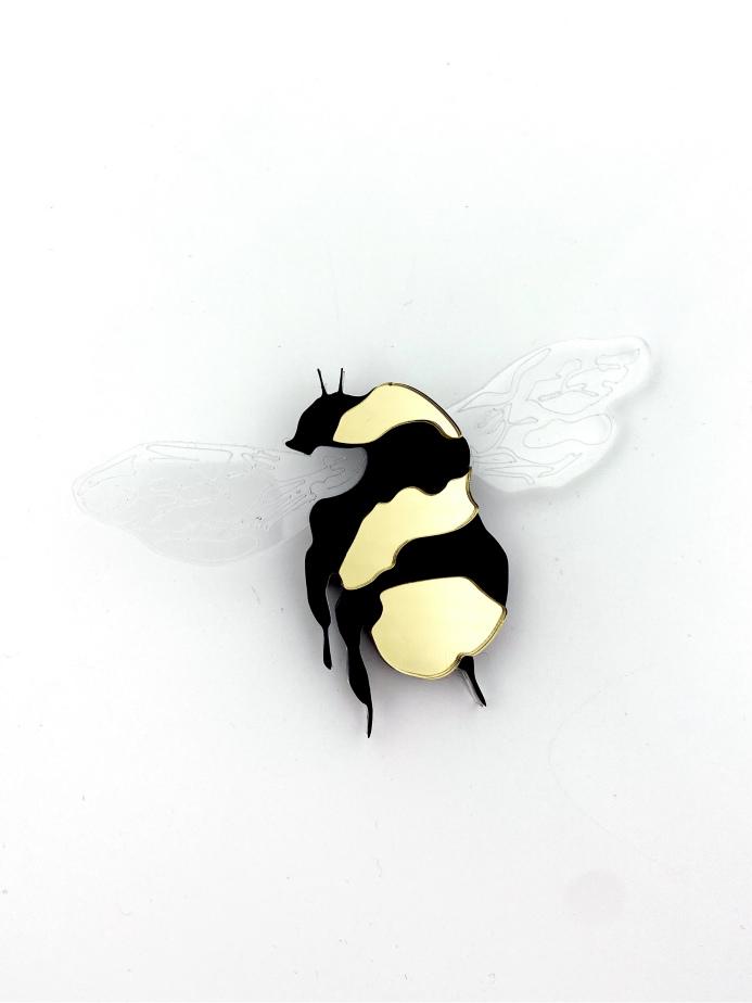 honey bee brooch jkh