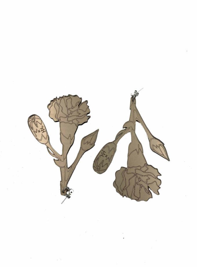 carnation drop earrings jkh