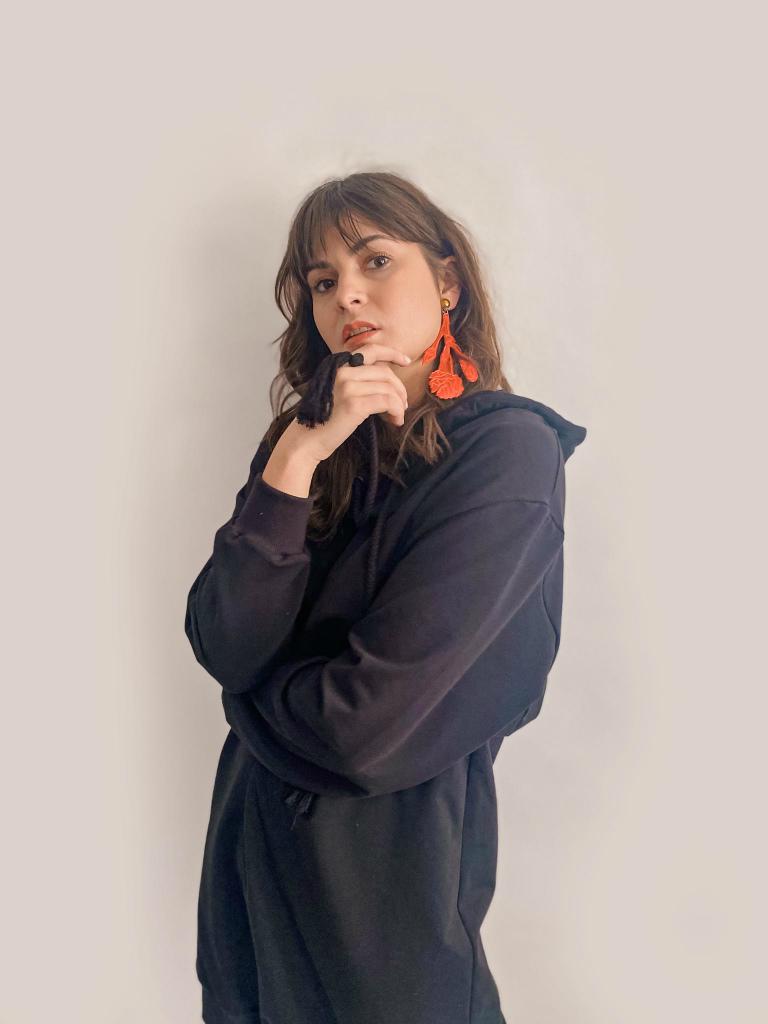 jkh hoodie dress sweatshirt dress light weight cotton terry dress online shop julia kaja hrovat