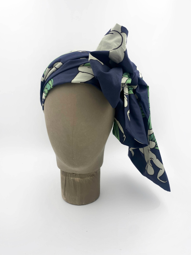 jkh hair accessory or belt with slovenian heritage print