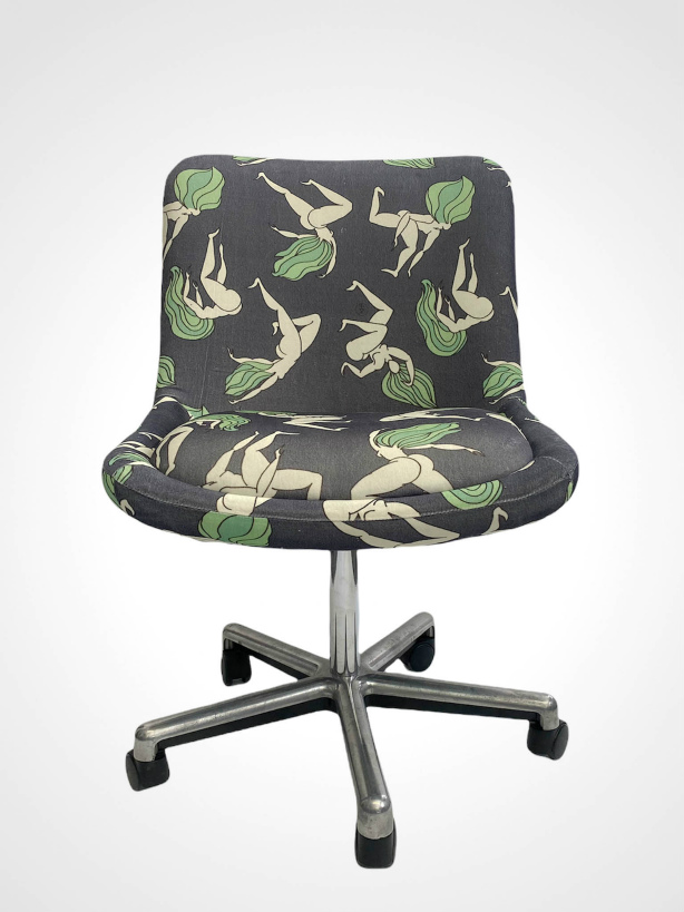 jkh home office chair retro refurnished chair 1990