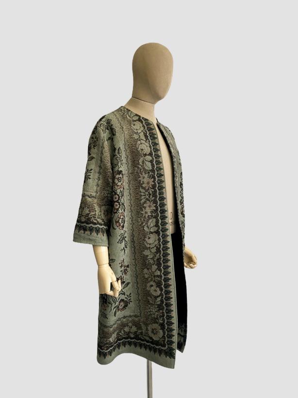 jkh artisanal collection julia kaja hrovat tapestry coat